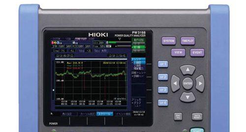 پاورآنالایزر|سنجش هارمونیک|کیفیت توان الکتریکی HIOKI PW3198