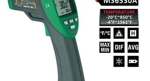 ترمومتر لیزری غیرتماسی ۸۵۰ درجه MS6530A