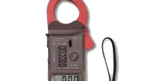 کلمپ آمپرمتر خاص|ترمومتر دار مدل LUTRON DM-6055C/F