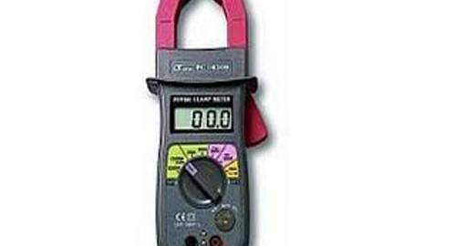 وات متر ،توان سنج کلمپی لوترون مدل LUTRON PC-6009