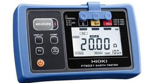 ارت سنج ,تستر مقاومت زمین مدل HIOKI FT-6031-03