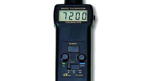 تاکومتر ,دورسنج لیزری تماسی مدل LUTRON DT-2259