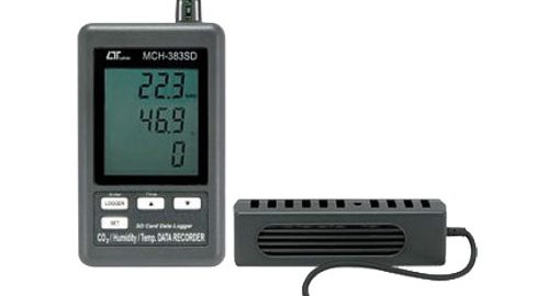 CO2متر دماسنج و رطوبت سنج مدل LUTRON MCH-383SD