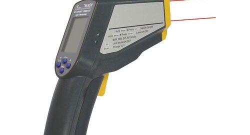 ترمومتر لیزری ,دماسنج تماسی مدل TM-969
