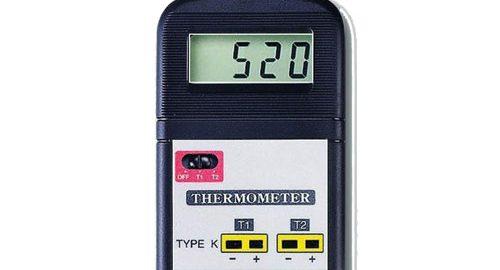 ترمومتر ,دماسنج دو کاناله مدل LUTRON TM-914C