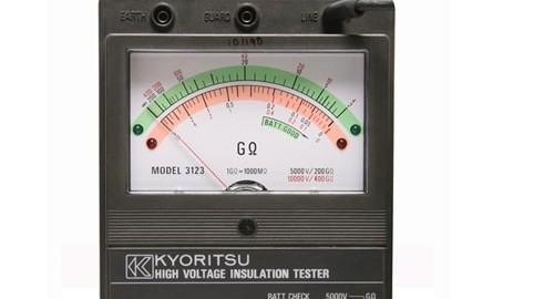 میگر -تست عایق کابل آنالوگ مدل KYORITSU 3123