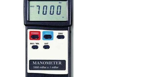 فشار سنج تفاضلی دیجیتال لوترون مدل LUTRON PM-9107