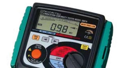 میگر – تستر عایق مقاومت دیجیتال مدل KYORITSU 3007A