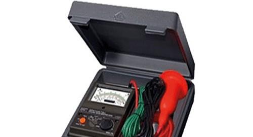 تست عایق کابل یا میگر ۱۰کیلو عقربه ای مدل KYORITSU 3124