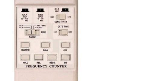 فرکانس متر دیجیتال لوترون مدل LUTRON FC-2500