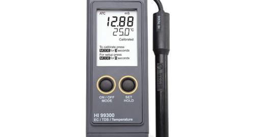 EC/TDS متر و سختی سنج محدوده پایین مدل HI99300