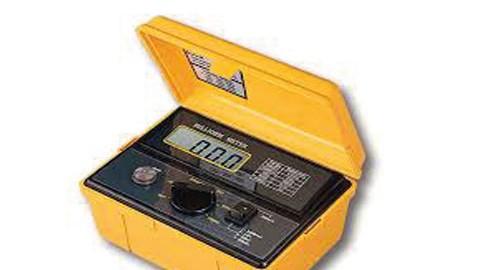 میلی اهم متر دیجیتال مدل LUTRON MO-2001
