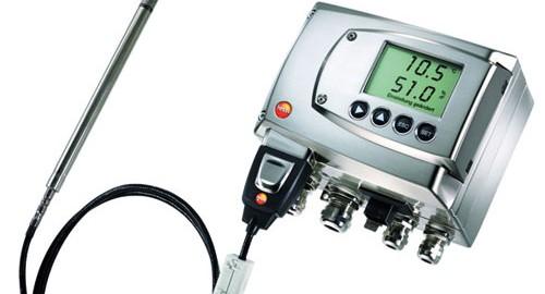 ترانسمیتر دما و رطوبت مدل TESTO 6681