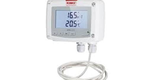 ترانسمیتر سرعت هوا و دما مدل KIMO CTV 210