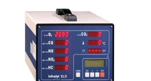 انالایزر گاز اگزوز دیزل مدل Infralyt ELD