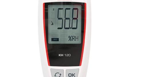 دیتالاگر دما و رطوبت مدل KIMO KH 120