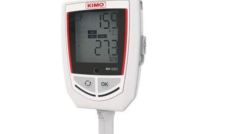 دیتالاگر دما و رطوبت و فشار آب مدل KIMO KH-220