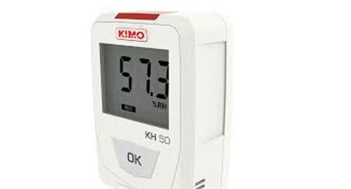 دیتالاگر دما و رطوبت مدل KIMO KH50