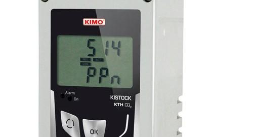 دیتالاگر دما و رطوبت و CO2 مدل KIMO KTH CO2