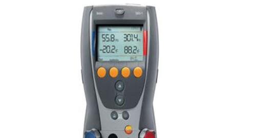انالایزر سیستم تبرید مدل Testo 556