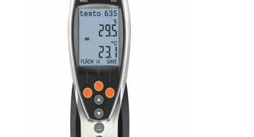 دماسنج و رطوبت سنج محیطی مدل TESTO 635