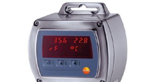 ترانسمیتر دما و رطوبت مدل HYGROTEST 600