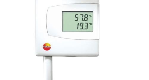 ترانسمیتر دما و رطوبت مدل testo 6621
