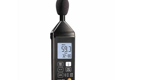 صوت سنج یا سنجش شدت صدا مدل TESTO 815