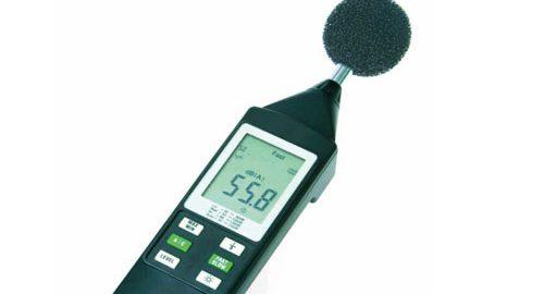 صوت سنج یا سنجش شدت صدا مدل TESTO 816