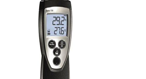 ترمومتر دماسنج دیجیتال تستو آلمان مدلTESTO 720