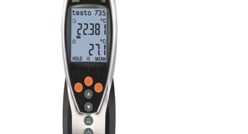 ترمومتر دماسنج دیجیتال تستو آلمان مدل TESTO 735