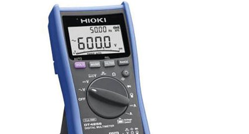 مولتی متر دیجیتال با رنج میکرو آمپر مدل HIOKI DT-4256