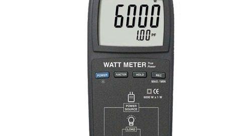 پاورمتر ,وات متر True Rms مدل LUTRON DW-6163