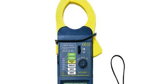 کلمپ آمپرمتر خاص|کلمپ ترمومتر دار لوترون LUTRON DM-6055C/F