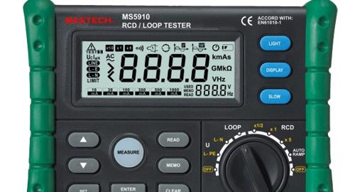 RCD / LOOP تستر مدل MS5910 Mastech