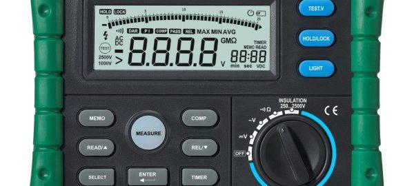 میگر ,تست عایق دیجیتال ۲۵۰۰ ولت مدل MS5205