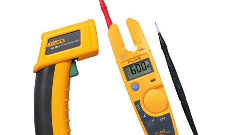 کیت تست ولت و ترمومتر لیزری مدل Fluke T5-600/62MAX+/1AC Kit
