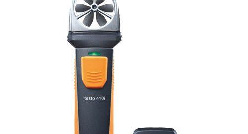 بادسنج پره ای با پراب بی سیم هوشمند مدل testo 410 i