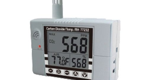 CO2متر پرتابل مدل ۷۷۲۳۲ CO2/°C/RH