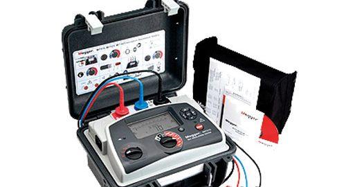دستگاه تستر عایق کابل یا میگر مدلMIT515