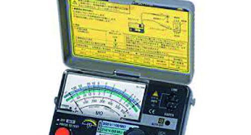 تستر عایق کابل میگر آنالوگ ۵۰۰ ولت کیوریتسو مدل KYORITSU 3161