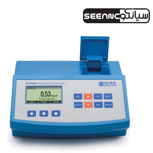 دستگاه فتومتر مولتی پارامتر مدل HANNA HI83200-02