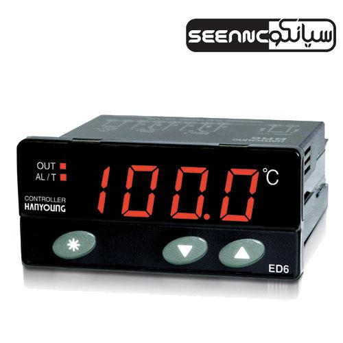 کنترلر دما با ابعاد کوچک و قیمت اقتصادی هانیانگ مدل HANYOUNG ED6-FCMAP4