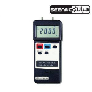 گیج فشار و مانومتر پرتابل LUTRON PM-9100