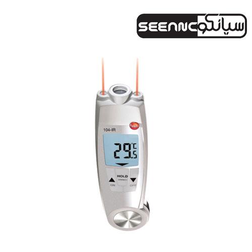 ترمومتر ،دماسنج تماسی دیجیتال مدل TESTO 104-IR
