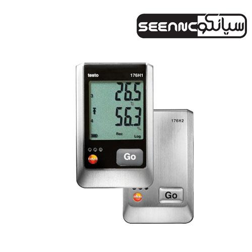 دیتالاگر دما و رطوبت دیجیتال تستو testo 176 H1/H2