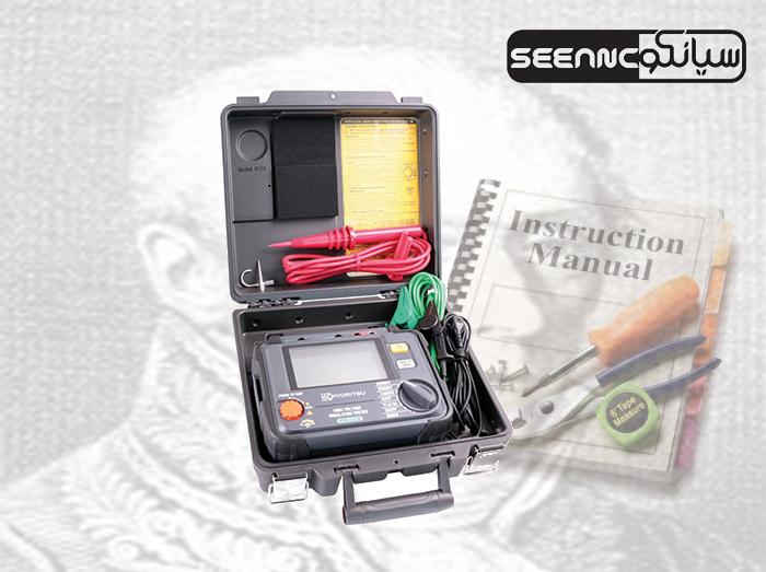 آموزش-طریقه-کار-با-دستگاه-میگر-تستر-عایق-ولتاژ-دیجیتال-مدل