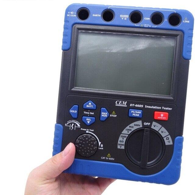 CEM-DT-6605-High-Voltage-Insulation-Tester-500V-to-5000V