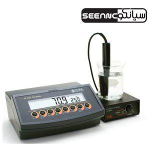 اکسیژن متر (DO متر) رومیزی آزمایشگاهی مدل HANNA HI-2400-02
