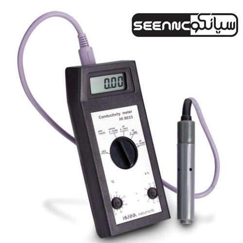 ECمتر و TDSمتر دیجیتال هدایت سنج HANNA HI8033